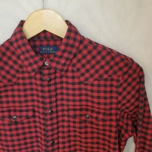 Polo Ralph Lauren Snap Shirt S